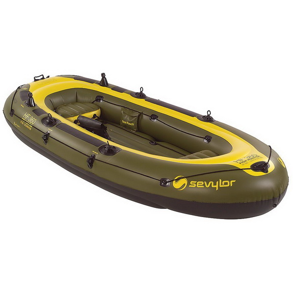 Fish Hunter 6 Person Boat