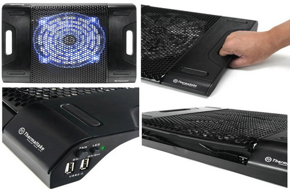 Thermaltake Massive23 LX -  Laptop Notebook Cooler