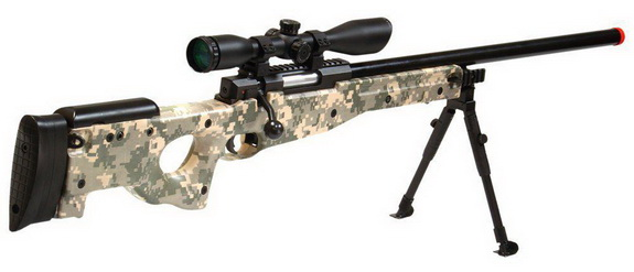 UTG AccuShot Competition Shadow Ops Sniper Rifle