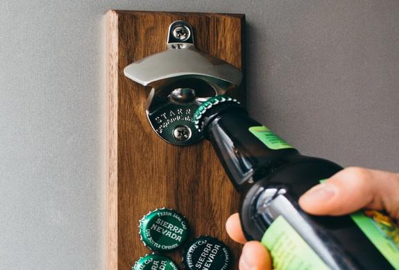 Porter Magnetic Bottle Opener