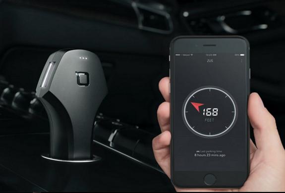 ZUS Smart Car Finder & USB Car Charger