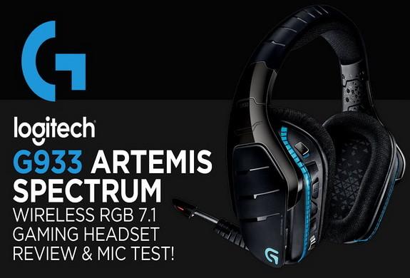 Logitech G933 Wireless 7 1 Surround Gaming Headset