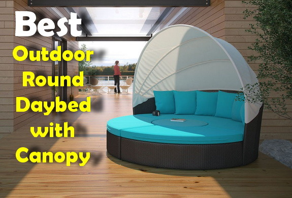 Best Outdoor Round Daybed With Canopy